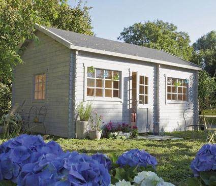 chalet habitable loksa. Black Bedroom Furniture Sets. Home Design Ideas