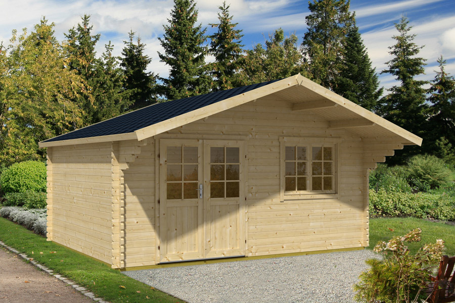 Chalet habitable narvik for Amenager mon jardin