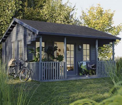 Chalet habitable samara - Maison de jardin habitable ...