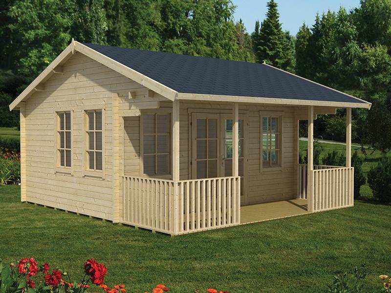 chalet habitable samara. Black Bedroom Furniture Sets. Home Design Ideas